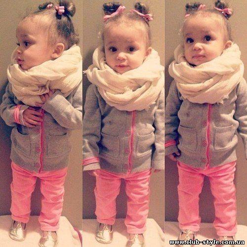 Модно одетый малыш