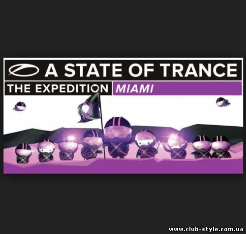 ASOT 600 Miami LIVE (a state of trance 600 Маями)