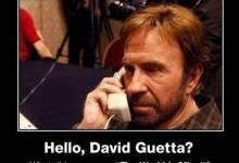 Chuck Norris - David Guetta - the world is mine