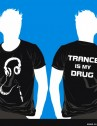 футболка Trance is my drug